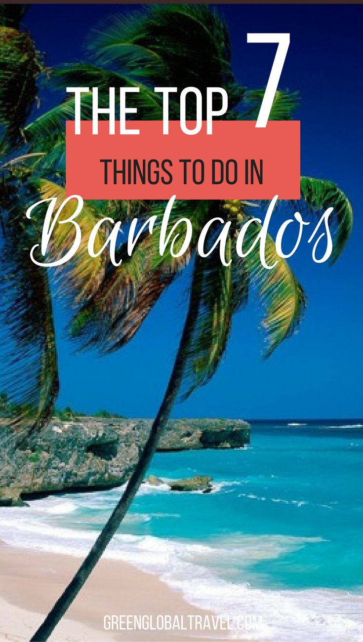 The Top 10 Things to Do in Barbados Barbados travel