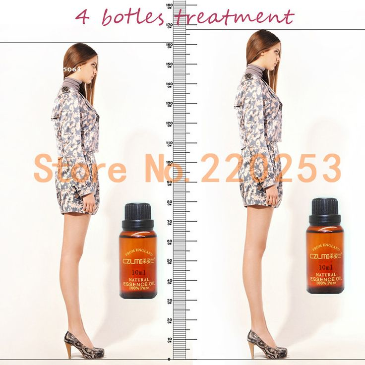 2016 3 bottles treatment natural bone growth height increasing oil fast grow taller foot health care product increasing height