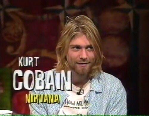 Imagen de nirvana, kurt cobain, and grunge