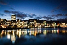 Nueva Zelanda, Wellington, Puerto