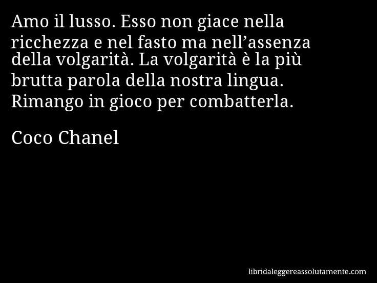 Cartolina con aforisma di Coco Chanel (2)