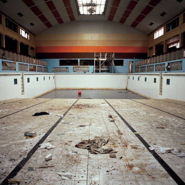 Deserted of human life these decaying landscapes provoke a profound feeling of human absence and nostalgia for a lost past. These images are part of a project called 'Absence of Water', which documents derelict lidos and baths in England. Photos: Gigi Cifali.