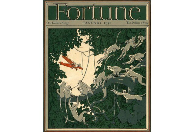 Fortune Magazine Cover, January 1931