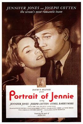projetor antigo: O Retrato de Jennie 1948 Leg avi  1948 , Cecil Kellaway , Clem Bevans , David Wayne , Ethel Barrymore , Felix Bressart , Henry Hull , Jennifer Jones , Joseph Cotten , Legendado , Lillian Gish , Romance/Fantasia , William Dieterle