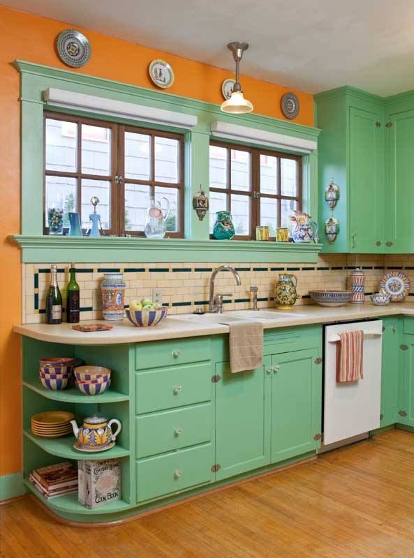 Best 25 1940s kitchen ideas on pinterest 1940s home for Vintage kitchen designs photos