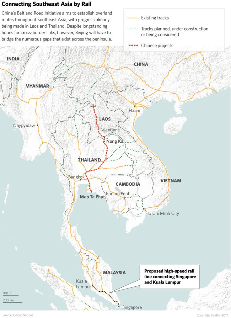 69 Best Future Southeast Asia Railways Images On Pinterest: China Laos Railway Map At Infoasik.co