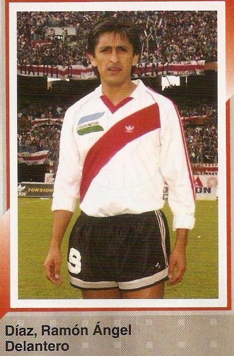 Ramon Díaz, cuando jugaba