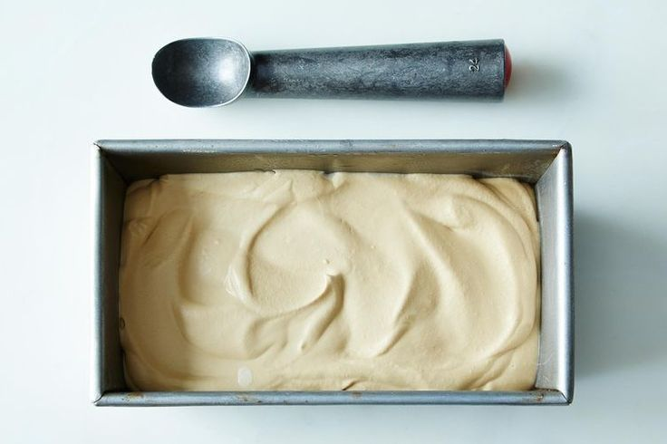 Nigella Lawson's One-Step, No-Churn Coffee Ice Cream recipe- his recipe has 4 ingredients, 1 step, no cooking, and no churning, but the ice cream you get will have a creamy, almost buttery smoothness!
