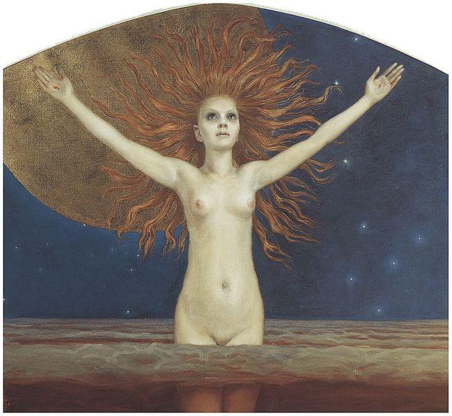 Ad astra (1907) by Akseli Gallen-Kallela