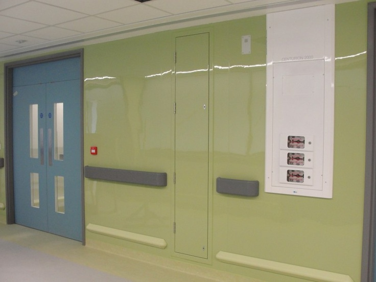 Altro Whiterock Chameleon installed on the 4th Floor West ICU at the Royal Free Hospital by Absolute Interiors of Harlow http://www.absolute-interiors.net