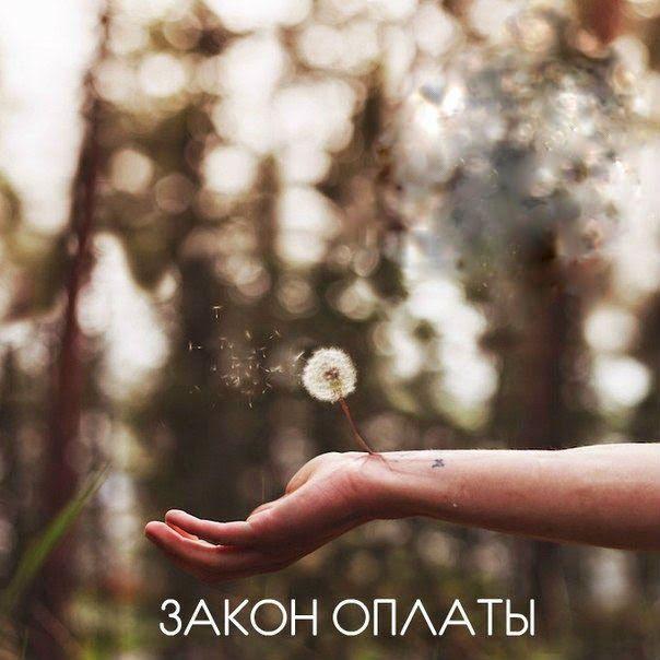 ЗАКОН ОПЛАТЫ ~ Эзотерика и самопознание