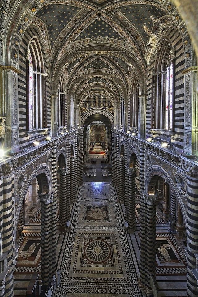 Siena Cathedral--Siena, Italy   beautiful places & spaces   Pinterest
