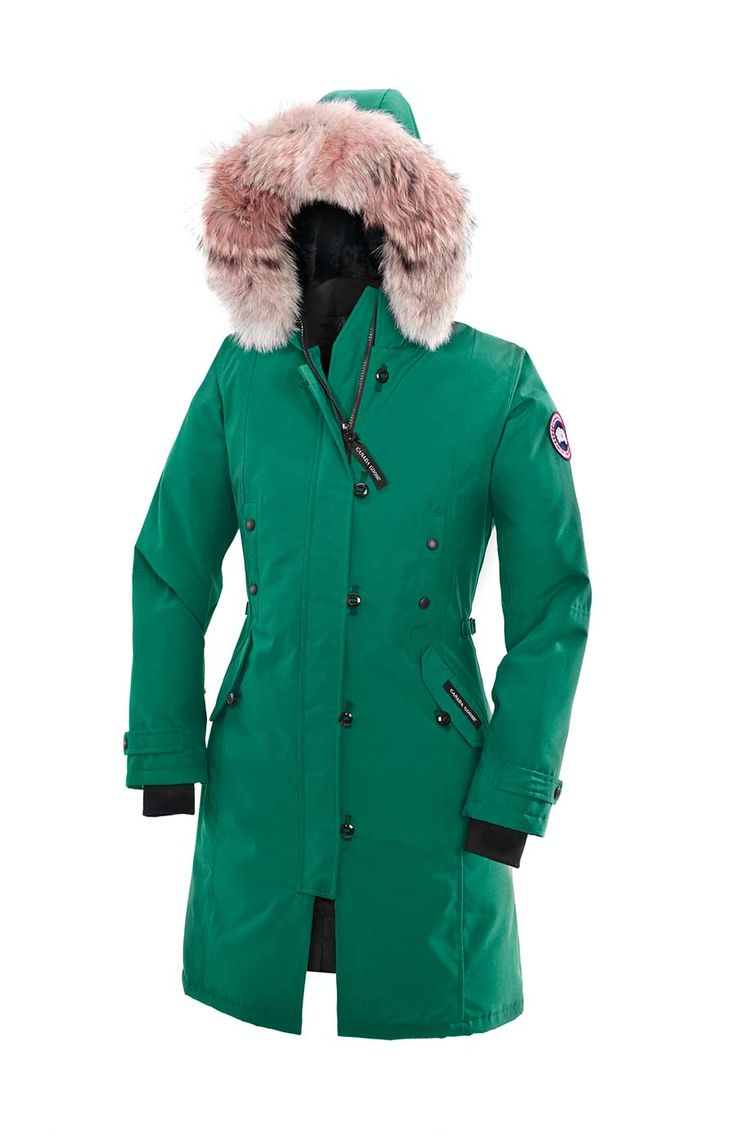 Canada Goose womens outlet fake - Canada Goose Kensington parka in Arctic Surf http://site ...