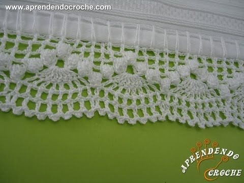 step by step Barrado de Croche Dançarinas - Aprendendo Crochê