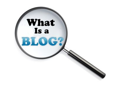 what is a blog A blog is a website where you publish content and write about different topics you are interested in or are passionate about.