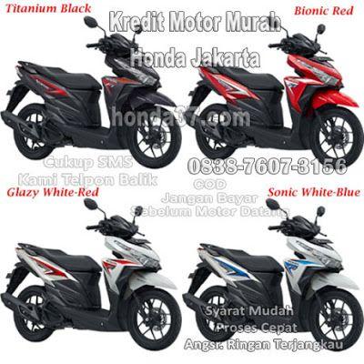 5 Kredit Motor Murah Honda Vario esp Jakarta COD Mudah dan Cepat