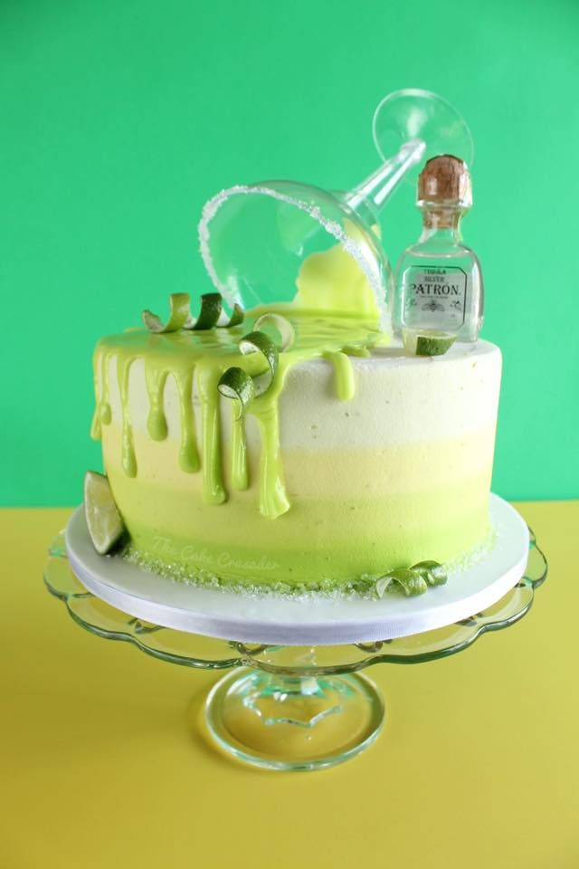 Terrific Margarita Cake Tequila Patron Cake Lime Cake Cinco De Mayo Birthday Cards Printable Giouspongecafe Filternl