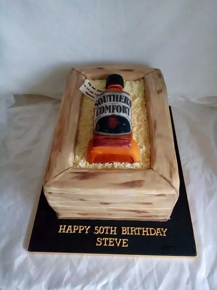 Southern comfort bottle cake | my pins | Pinterest | Bottle, Southern ...