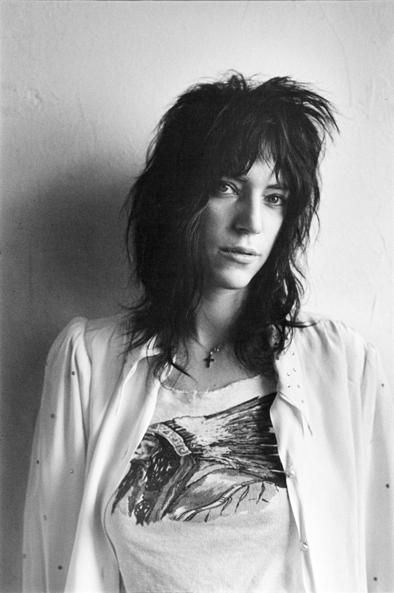 Patti Smith. Singer. Songwriter. Poet. Performer. Guardian angel of the artful life. She cross genre, bend gender, capture our imaginations, and blow our minds.