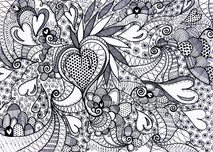 adult pattern coloring pages adult coloring page love adult