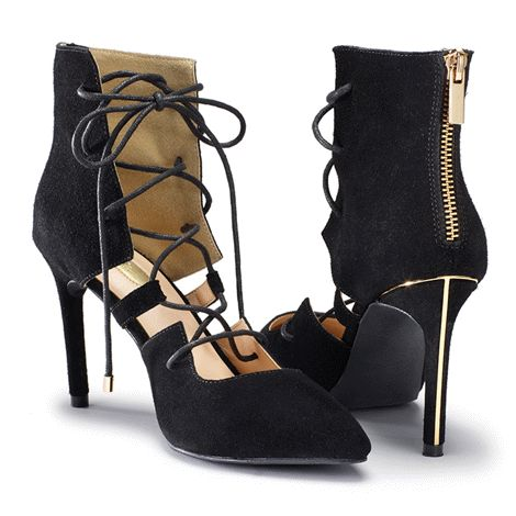 You will love this product from Avon: mark. Lace Odyssey Heels