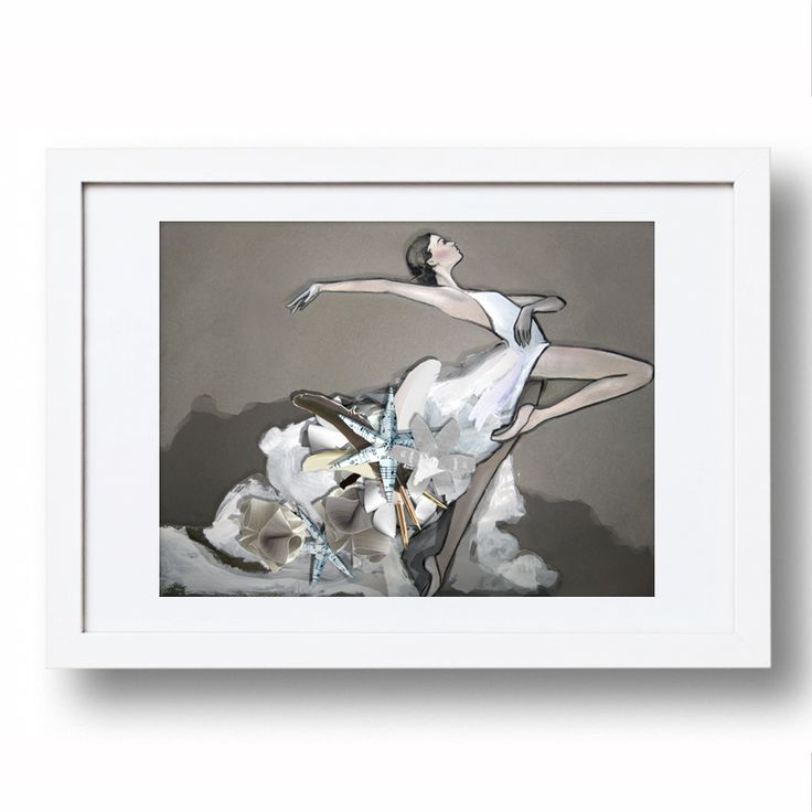 Ballet Collage by Sarah Carter-Jenkins