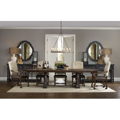 Hooker Furniture Treviso 5 Piece Extendable Dining Table Set