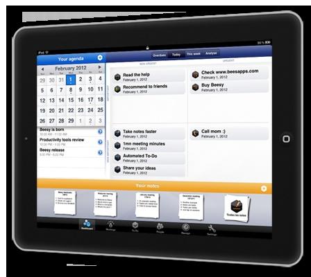 Beesy. Prise de notes efficace sur iPad.