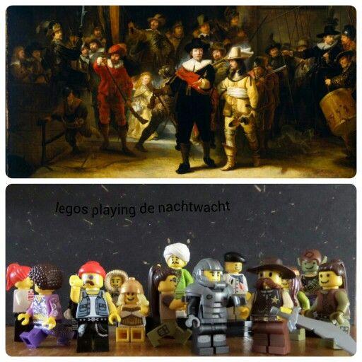 Legos doen de nachtwacht