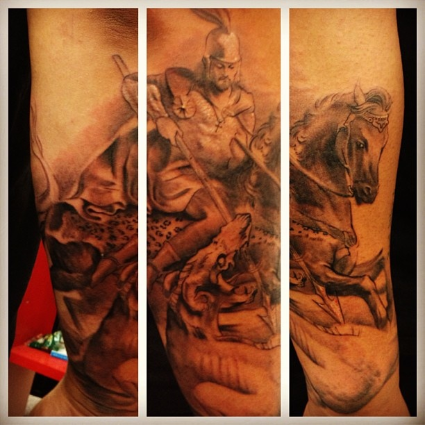 42 best images about st george on pinterest martin o for St george tattoo