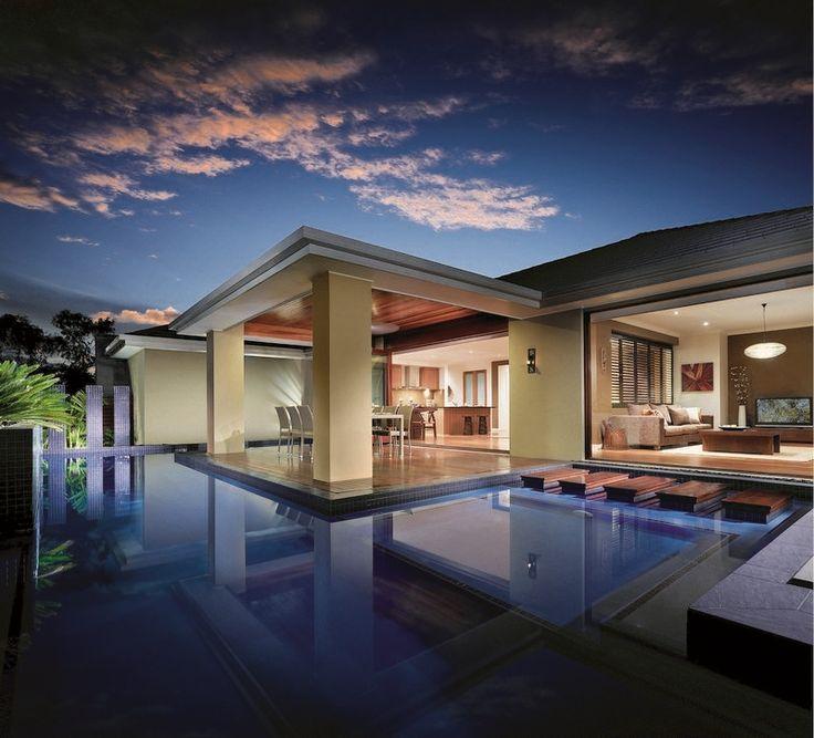 pool and alfresco, full window of lounge