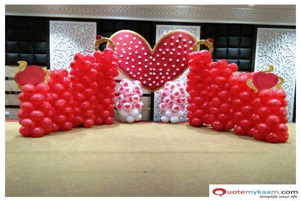 Anniversary Decoration At Home Anniversary Decorations Romantic