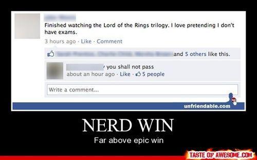 lol: Geek, Nerd Jokes, Nerdy Stuff, Epic Win, Funnies Things, Sad Things, Exams Quotes, Funnies Stuff, Nerd Win