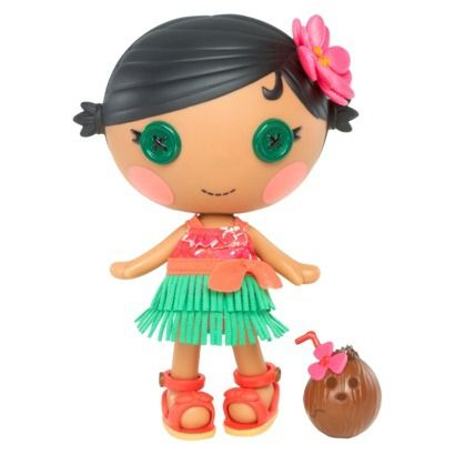 Lalaloopsy Littles Kiwi Tiki Wiki Doll--Inspiration for a Lalaloopsy cake.