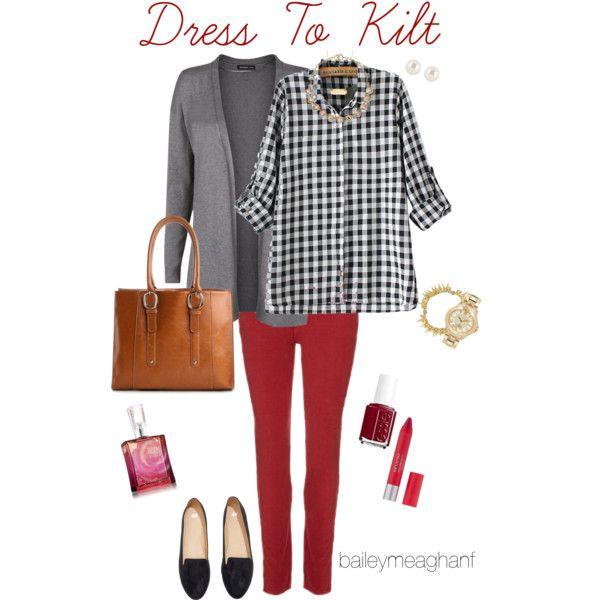 Essie Inspired: Dress To Kilt