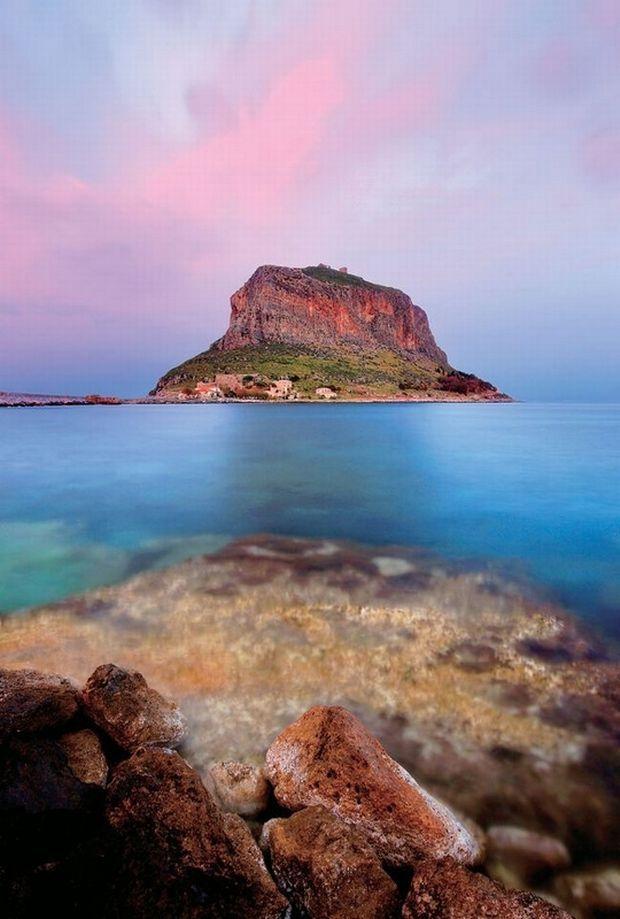 Monemvasia Island, Laconia, Greece
