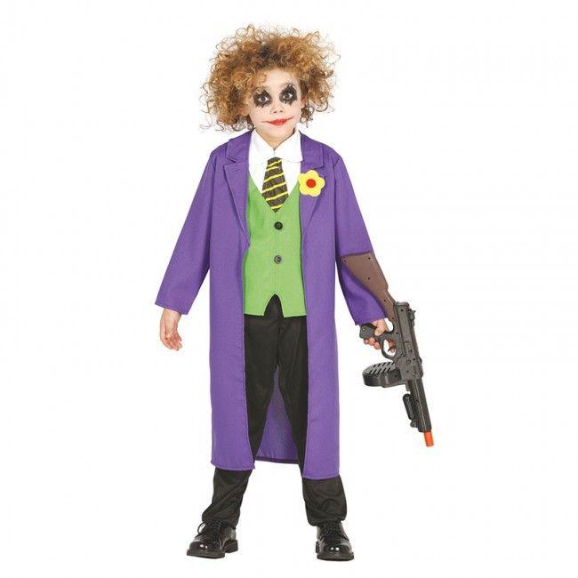 Déguisement Joker pour garçon #costumespetitsenfants #nouveauté2017