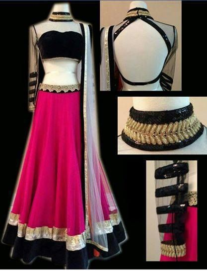 Designer Lehenga Choli Party Wear Indian Pakistani Wedding Festival Lehenga sari #Handmade #Designersuit