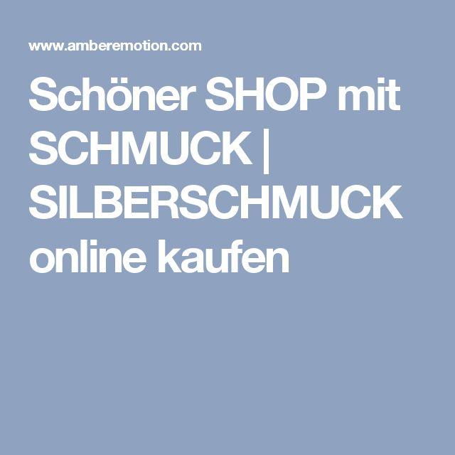 Silberschmuck kaufen online  Die 25+ besten Silberschmuck online Ideen auf Pinterest ...