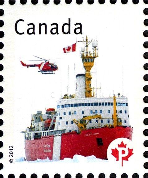 Sello: Canadian Coast Guard (Canadá) (Canadian Pride) Mi:CA 2777,Sn:CA 2498a