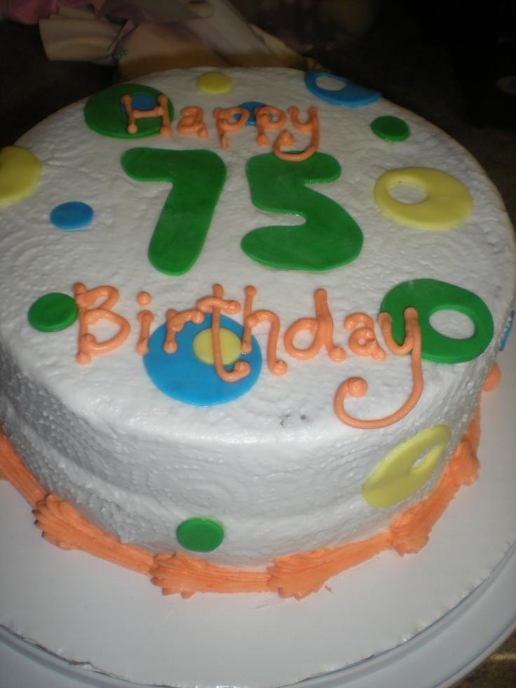 Years Birthday Cake