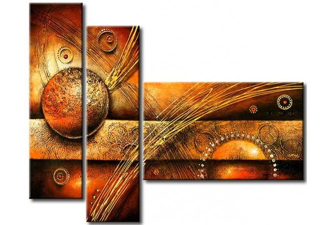 Cuadro Decorativo Bolas Y Círculos Pinturas Abstractas Abstracto Cuadros Modernos