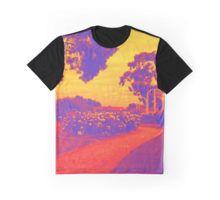 Sunset Rose Graphic T-Shirt