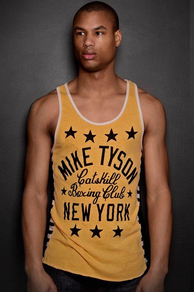 Tyson Kid Dynamite Striped Tank
