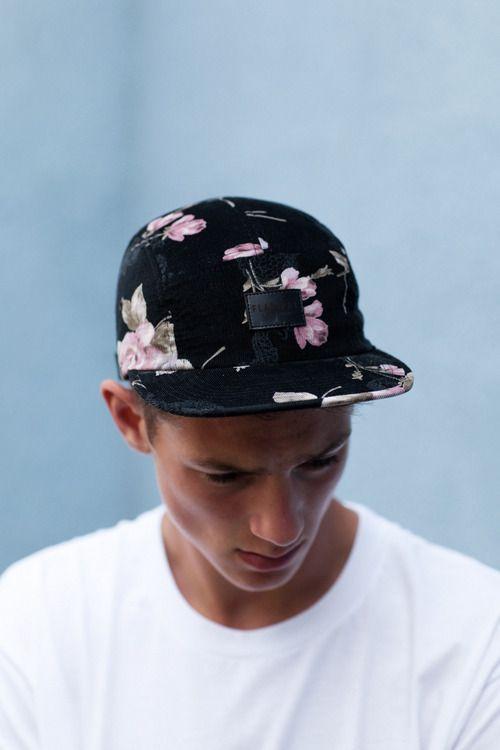floral cap: Street Fashion, Rose Flowers, Floral Prints, Flowers Patterns, Guys Style, Street Style, Panels Cap, Men Fashion, Floral Corduroy