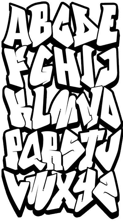 les 25 meilleures id es de la cat gorie alphabet graffiti sur pinterest lettres en style de. Black Bedroom Furniture Sets. Home Design Ideas