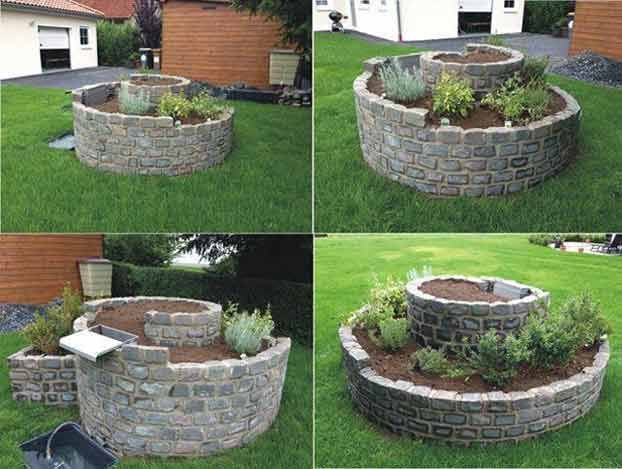 Pi di 25 grandi idee fai da te per il giardino su - Costruire lampade da giardino ...