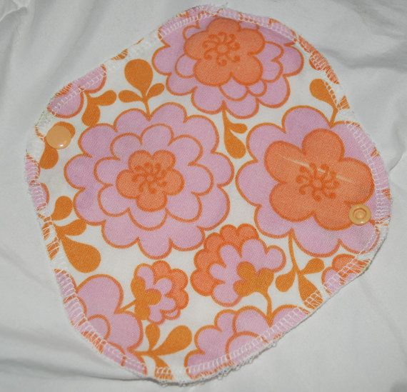 Retro flower pantyliners, cloth pad