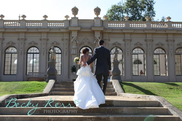 The Orangery at Wrest Park, Becky Kerr Photography flowers by www.wildorchidweddingflowers.co.uk