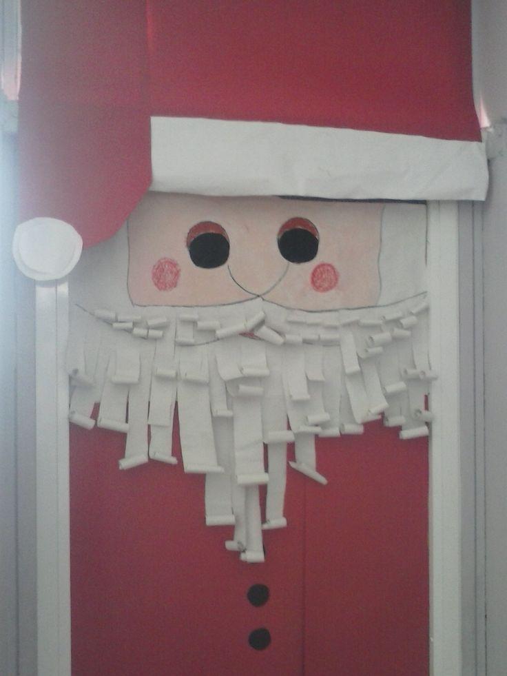 χριστουγεννιάτικη πόρτα